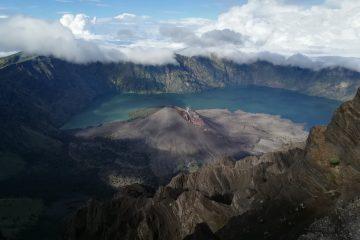 lago monte rinjani